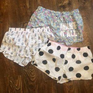 Size xs Victoria Secret pink boxer shorts